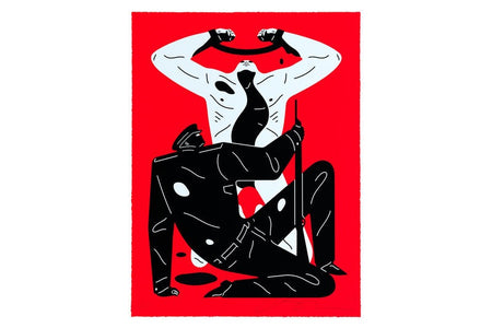 Cleon Peterson 'THE COLLABORATOR' Red