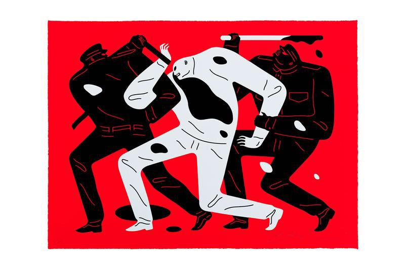 Cleon Peterson 'THE DISAPPEARED' Red