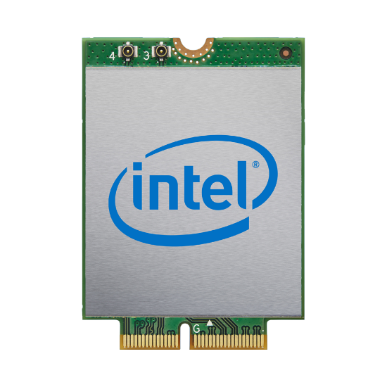 Intel® Wi-Fi 6 AX201 (2.4Gbps) + BT 5.0