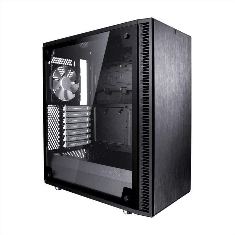 Fractal Style Pack Define C Black Tempered Glass Upgrade