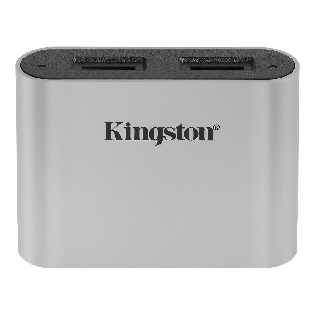 Kingston Workflow MicroSD Reader (Supports 2 UHS-II SD cards)