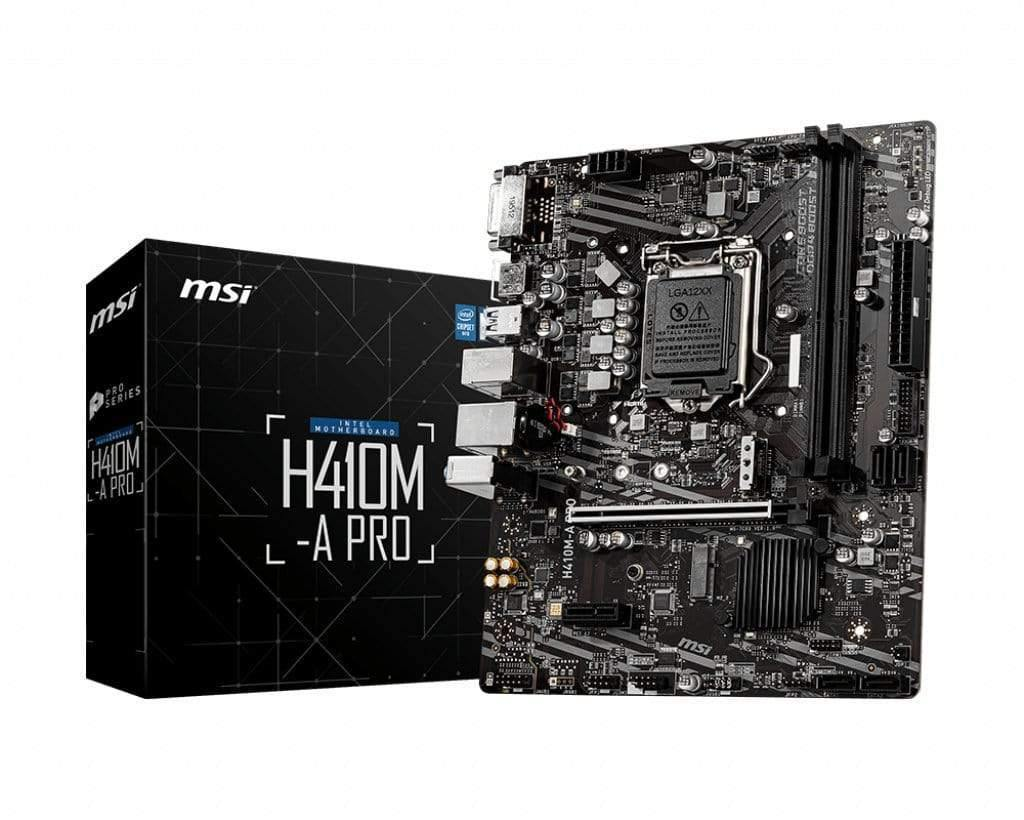 MSI Motherboards MSI H410 A-Pro