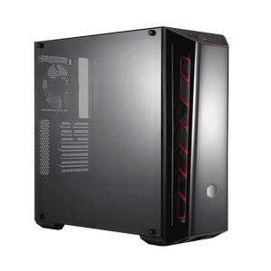 Utopia Computers 2020 Chassis- Desktop Cooler Master MasterBox MB520 (Red)