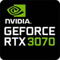 Utopia Computers 2020 GPU 8GB NVIDIA GeForce RTX 3070