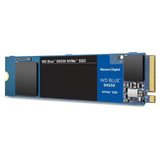 Utopia Computers 2020 M.2 500GB WD Blue SN550 NVMe M.2