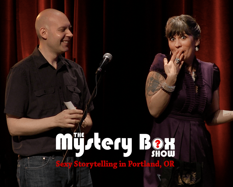 Portland Featured: <br>Reba and Eric of the Mystery Box Show