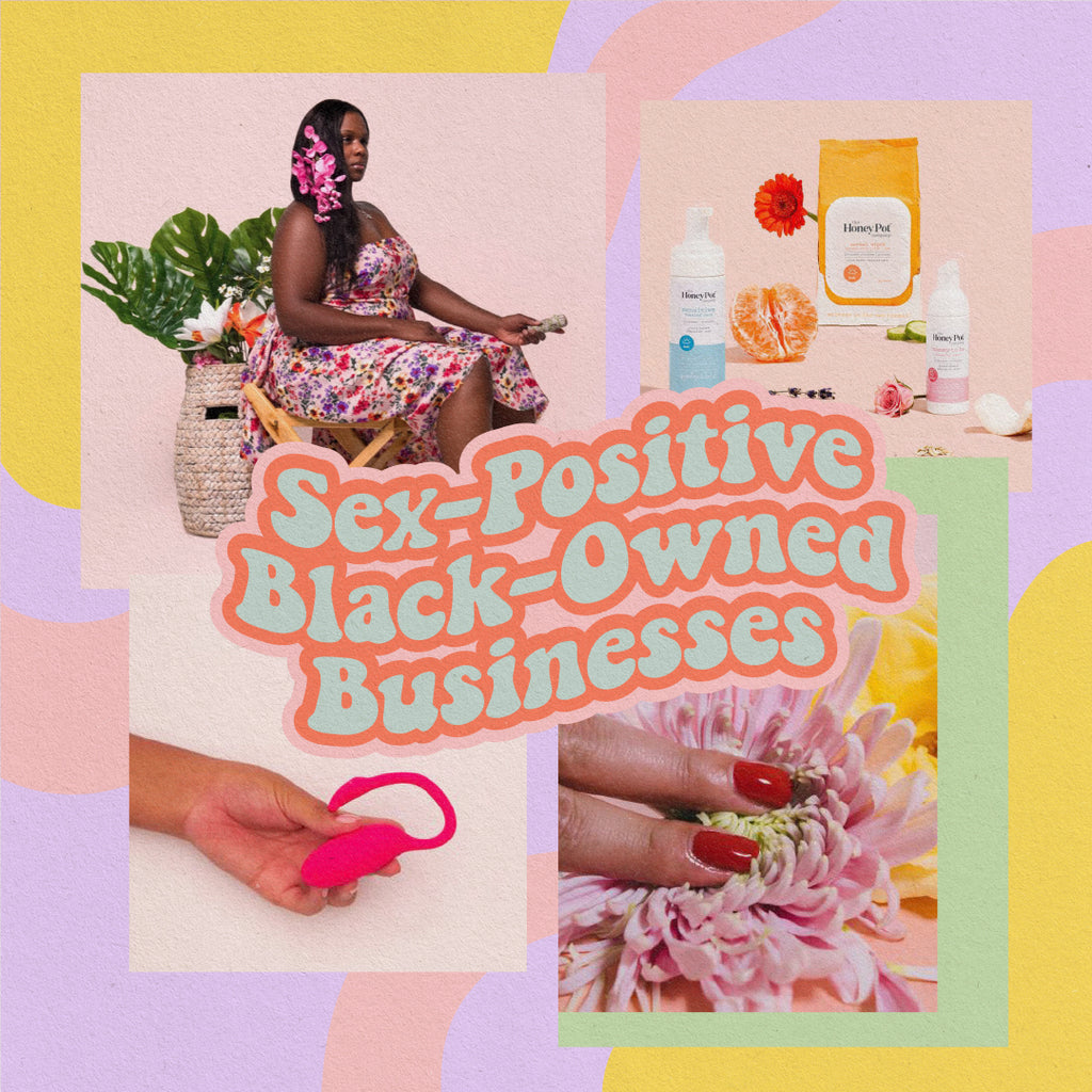 Sex-Positive Black-Owned Businesses<br> to Support This Month (and Always)