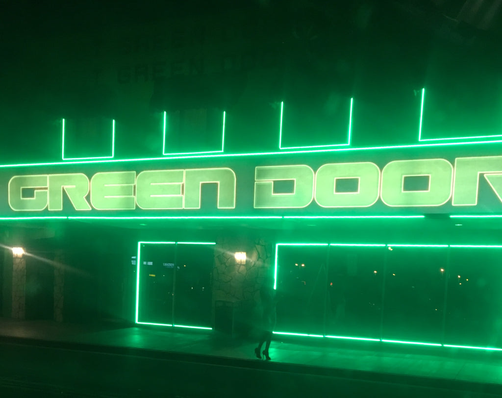 Visiting the Green Door