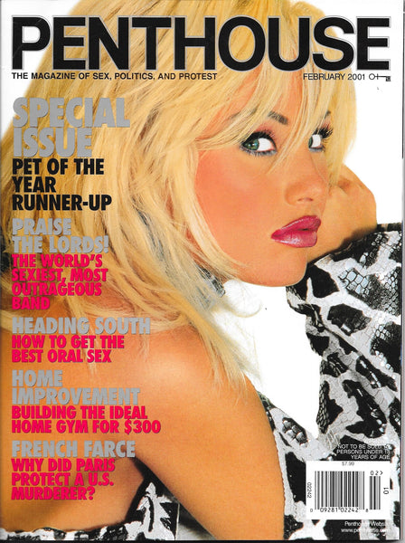 Our very first interview ~ <br>Penthouse 2001