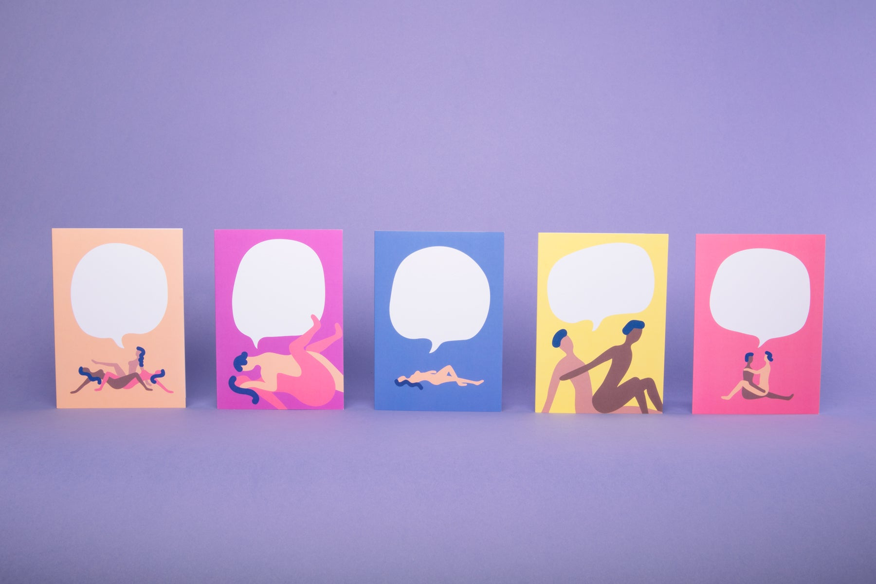 HappySexFace Greeting Cards 5-Pack