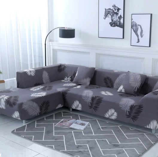 Exotic Grey - Magic Couch Cover