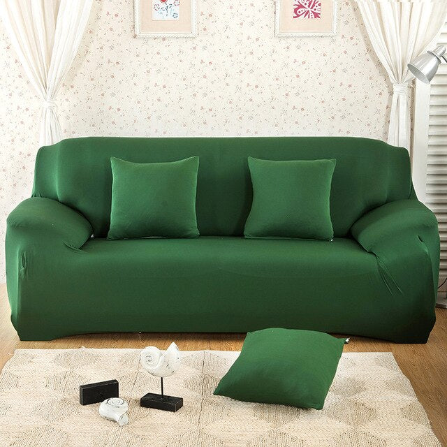 Forest Green - Couch Cover