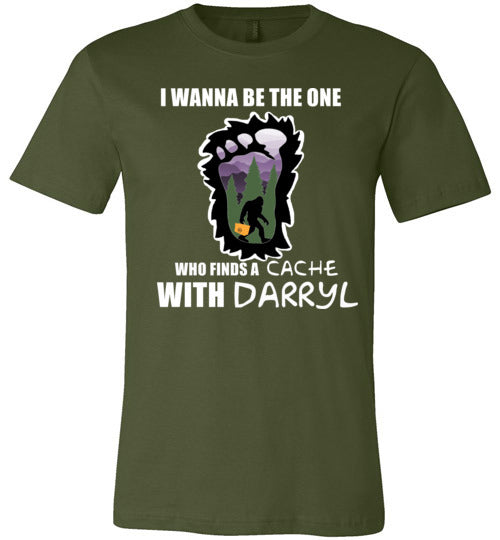 Geocaching with Darryl - Canvas unisex T Shirt