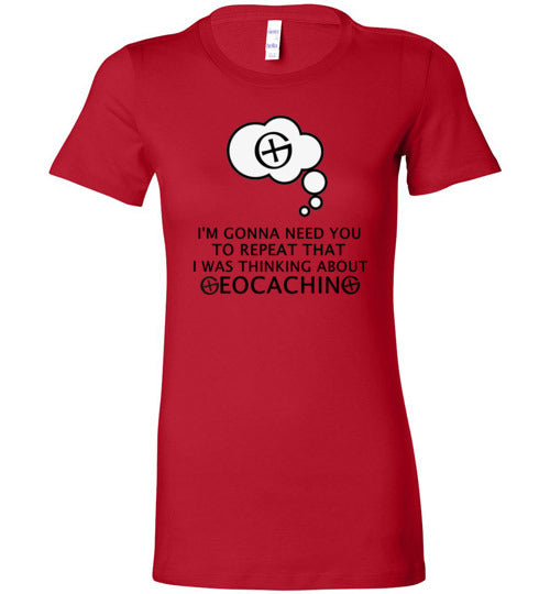 GeoThinking Black - Ladies Extended Sizes