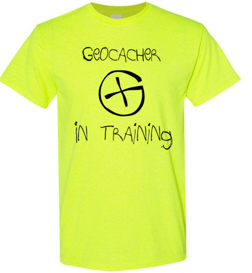 Geocacher In Training Black
