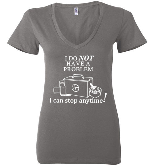 ProblemWhiteLadies-V-Neck All Sizes
