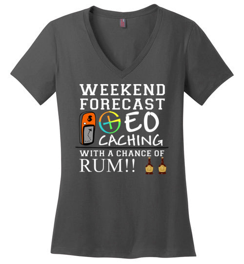 GC Forecast RUM Ladies V Neck