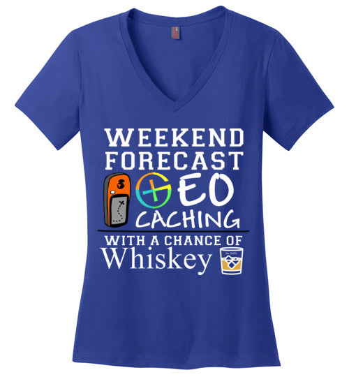 GC Forecast Whiskey V neck