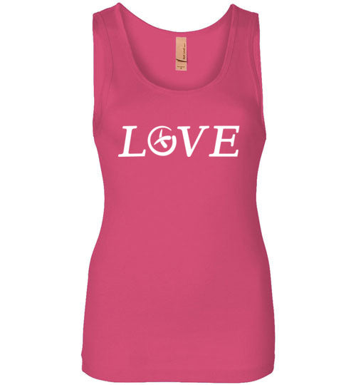 GeoLove - White - Ladies Tank All Sizes