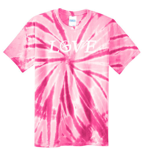 GeoLove - White - Port and Co Tie Dye