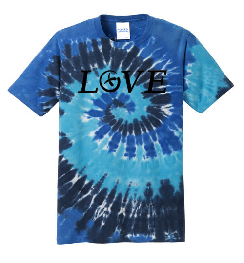 GeoLove - Black - Port and Co Tie Dye