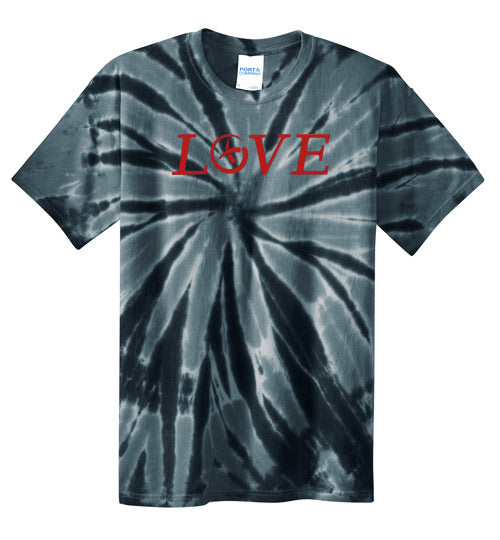 Geolove - Red - Port and Co Tie Dye