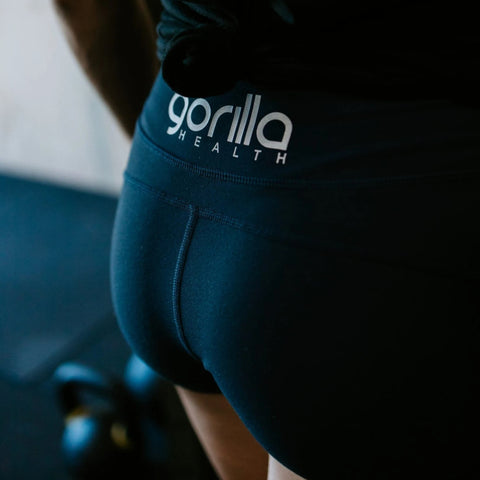 Gorilla Health Booty Shorts - Deep Navy - Gorilla Health