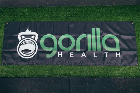 Gorilla Health Gym Flag - Small - Gorilla Health