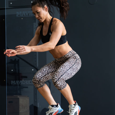 Vibe Leggings 3/4 - Jaguar - Gorilla Health