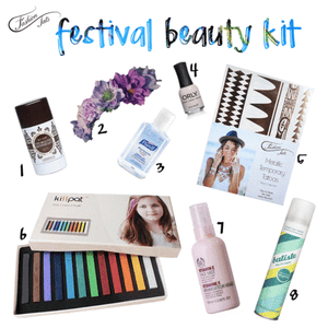 FashionTats Festival Beauty Kit!