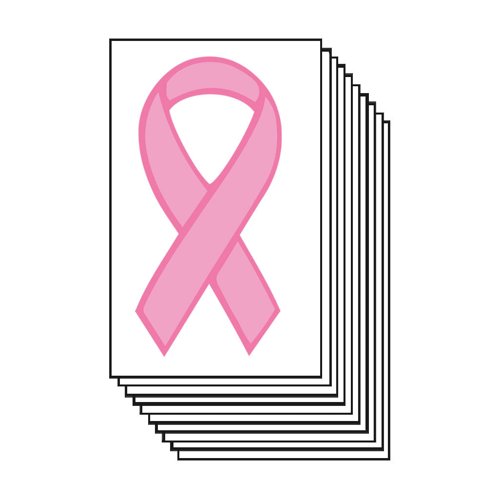 Pink Ribbon Breast Cancer (25-Pack)