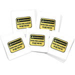 Yellow Food Allergies (10-Pack)