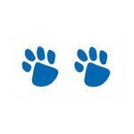Blue Paw Prints (10-Pack)