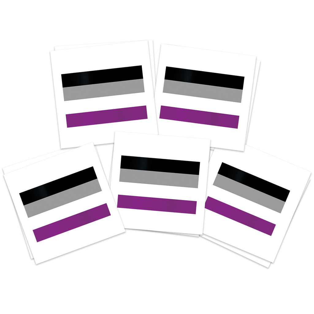 Asexual Flag (10-Pack)