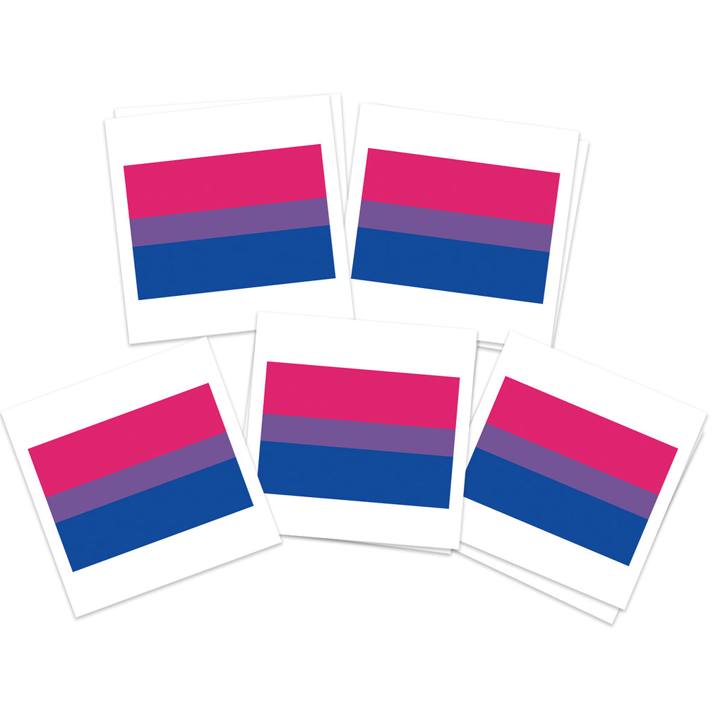 Bisexual Flag (10-Pack)