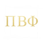 Pi Beta Phi Letters (10 Pack) Gold