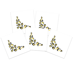 Gold Leopard Eye (5-Pack)