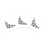 Silver Leopard Eye Accent (5-Pack)