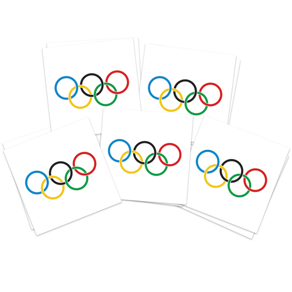 Large Olympic Rings (10-Pack)
