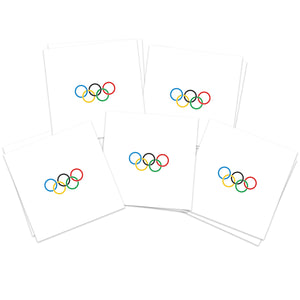 Small Olympic Rings (10-Pack)