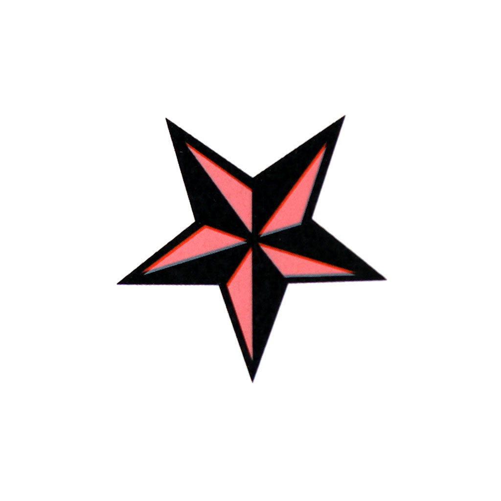 Red Nautical Star Small (10-Pack)