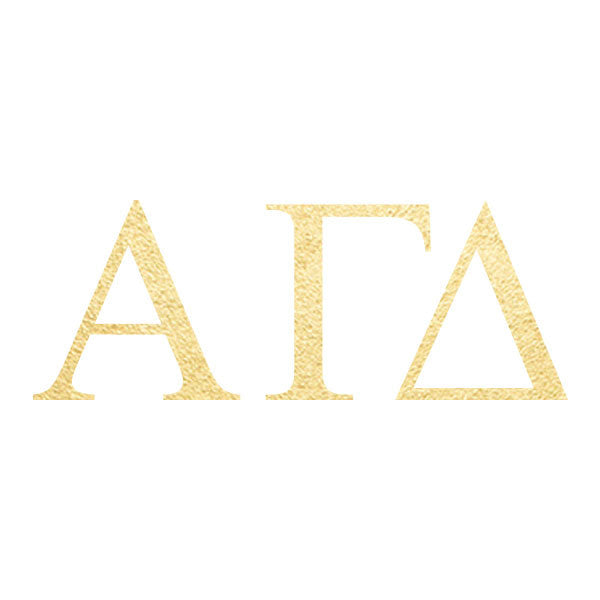 Alpha Gamma Delta Letters (10 Pack)