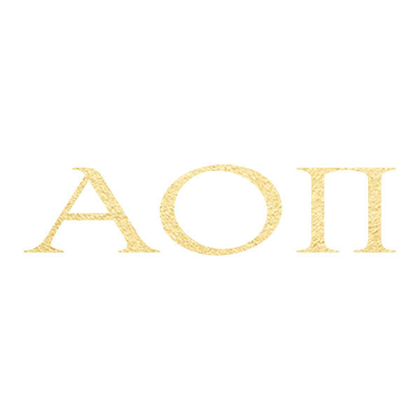 Alpha Omicron Pi Letters (10 Pack)