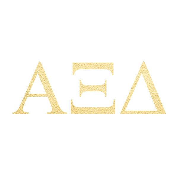Alpha Xi Delta Letters (10 Pack)