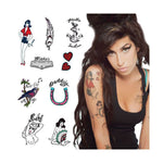 Amy Winehouse and tattoo collection