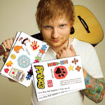 Ed Sheeran Temporary Tattoos