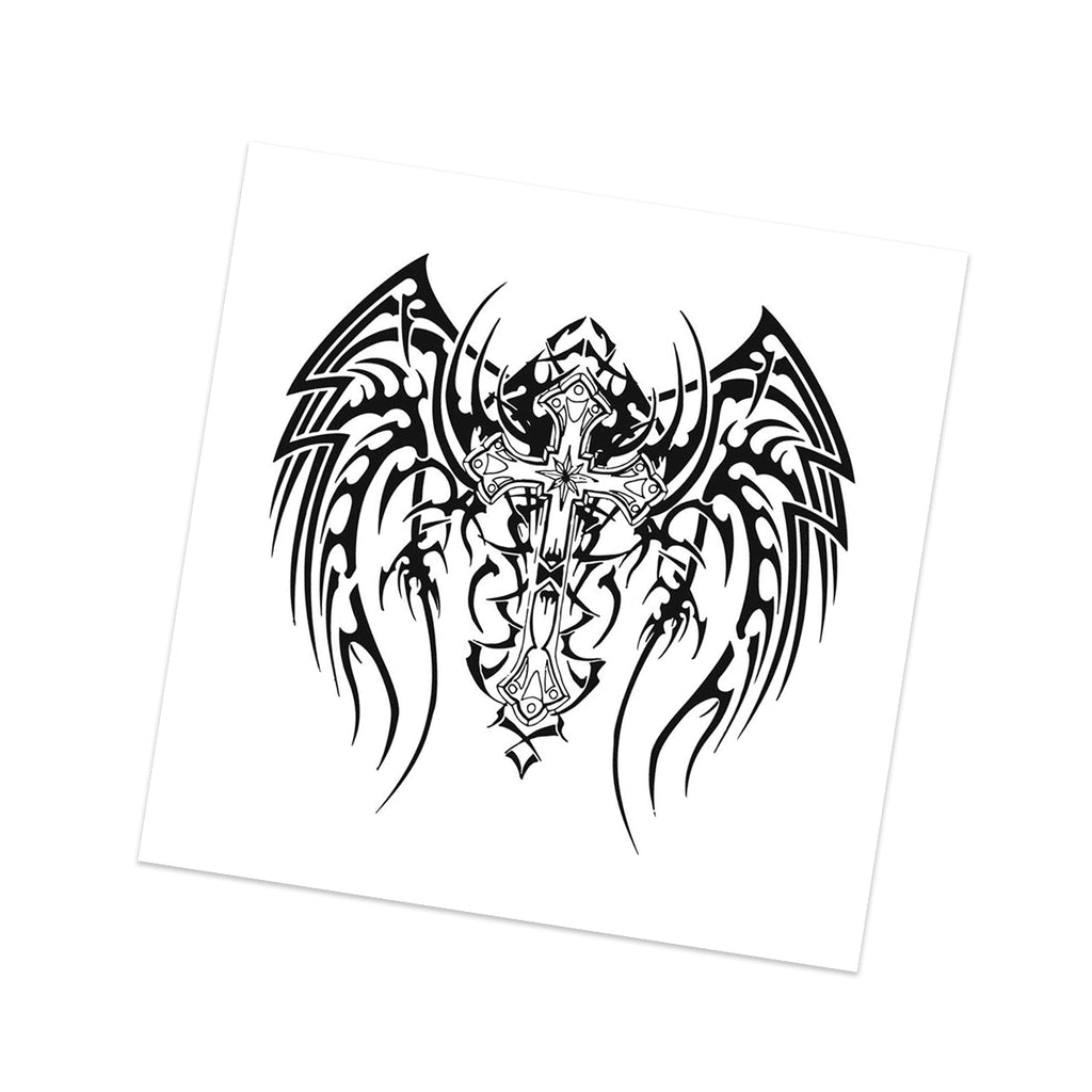 Gothic Winged Cross (2-Pack)