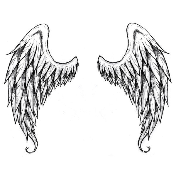 Large Angel Wings