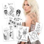 Lady Gaga Life Size Tattoos