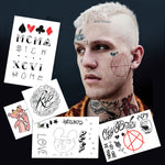 Lil Peep Temporary Tattoos